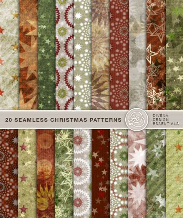 10 Seamless wrapping paper patterns