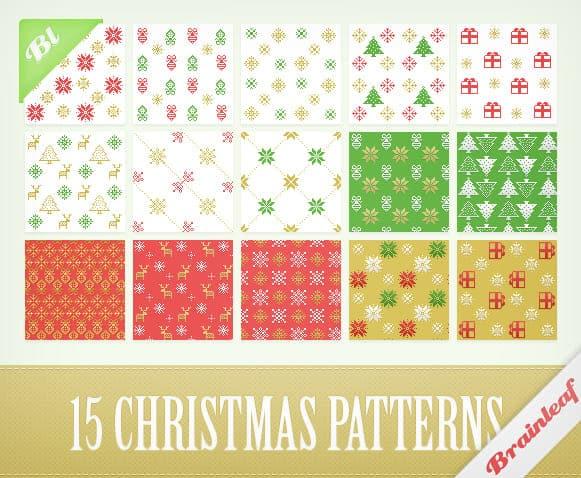 8 Pixelated ornaments