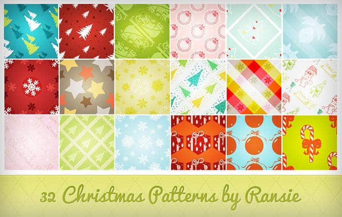 9 Christmas ornaments