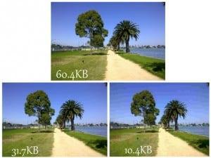 resized image files