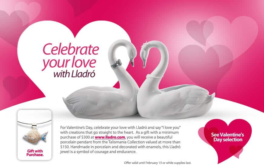 Valentine Day Window Cling Promo