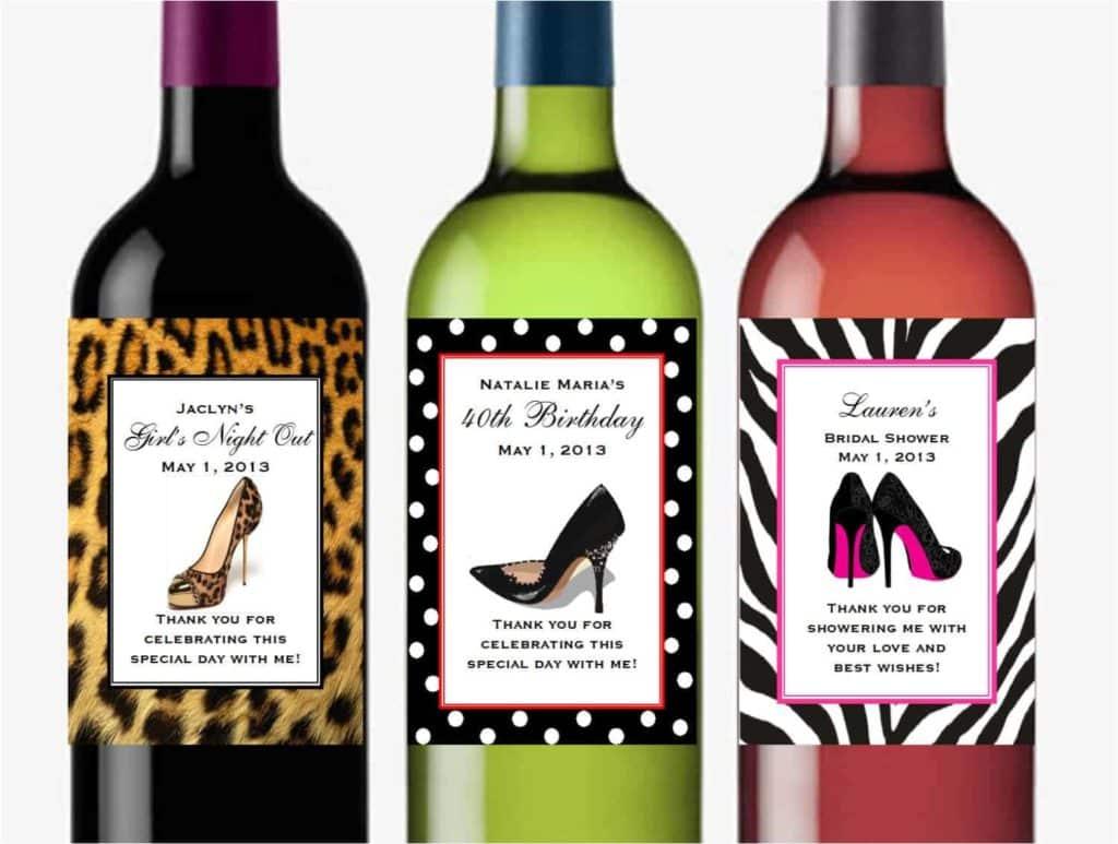 Wine Bottle Label Printing