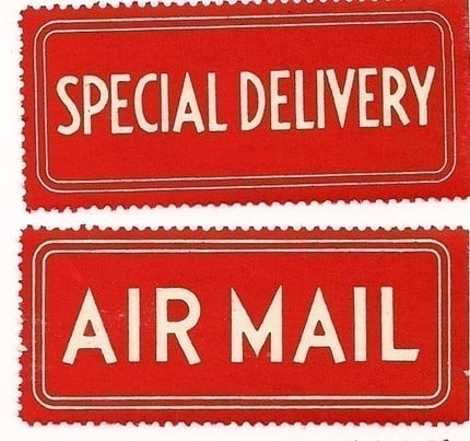 special mailing labels
