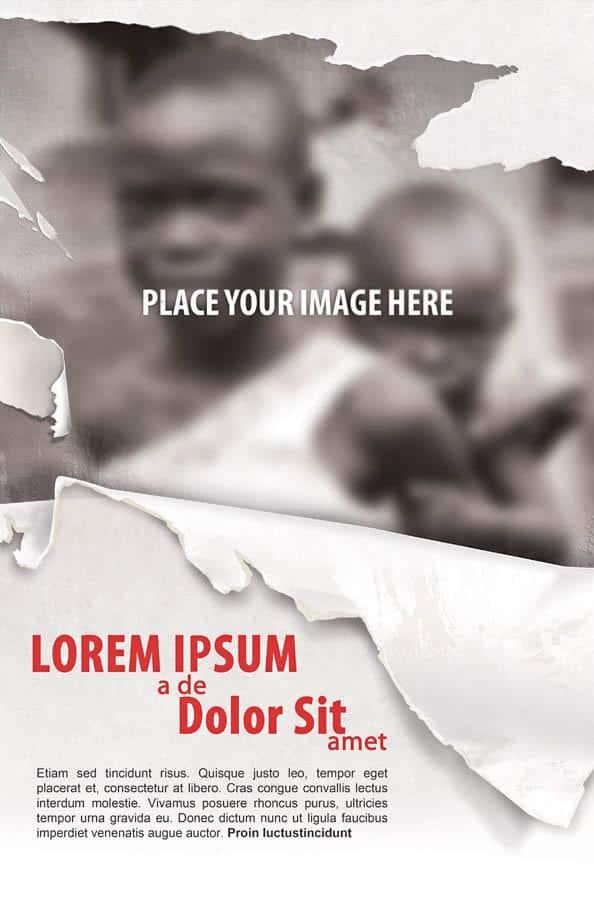 flyer templates for non profit