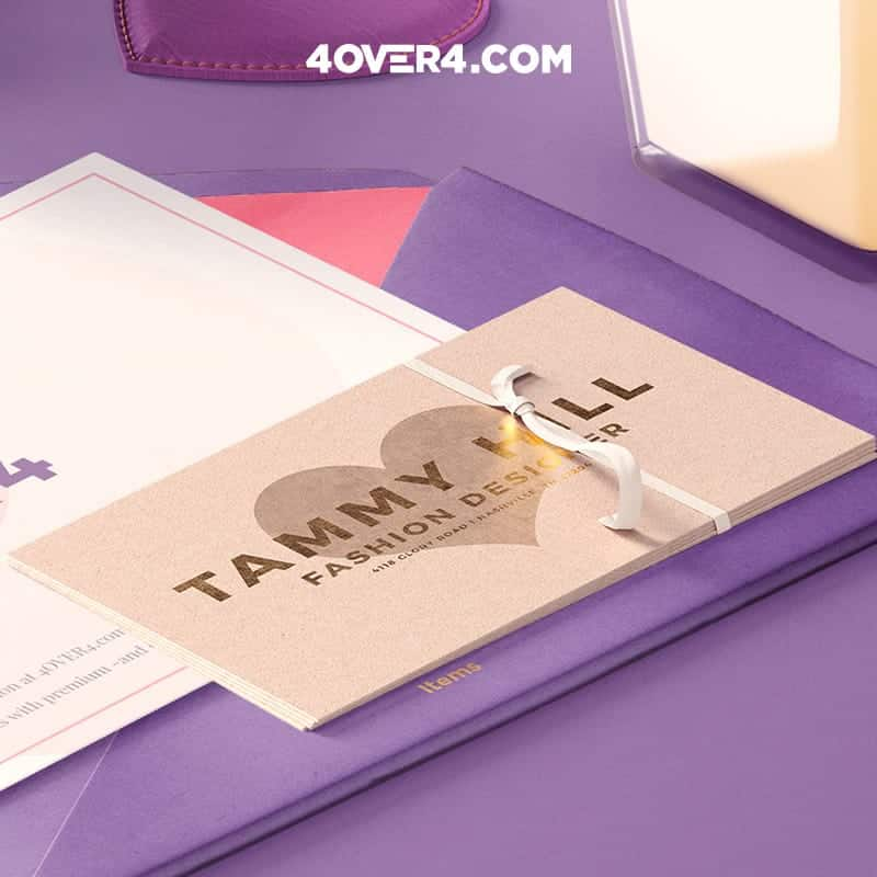 fashion designer business card