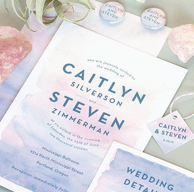 Top Trends for Summer Wedding Invitation - Graphic Design