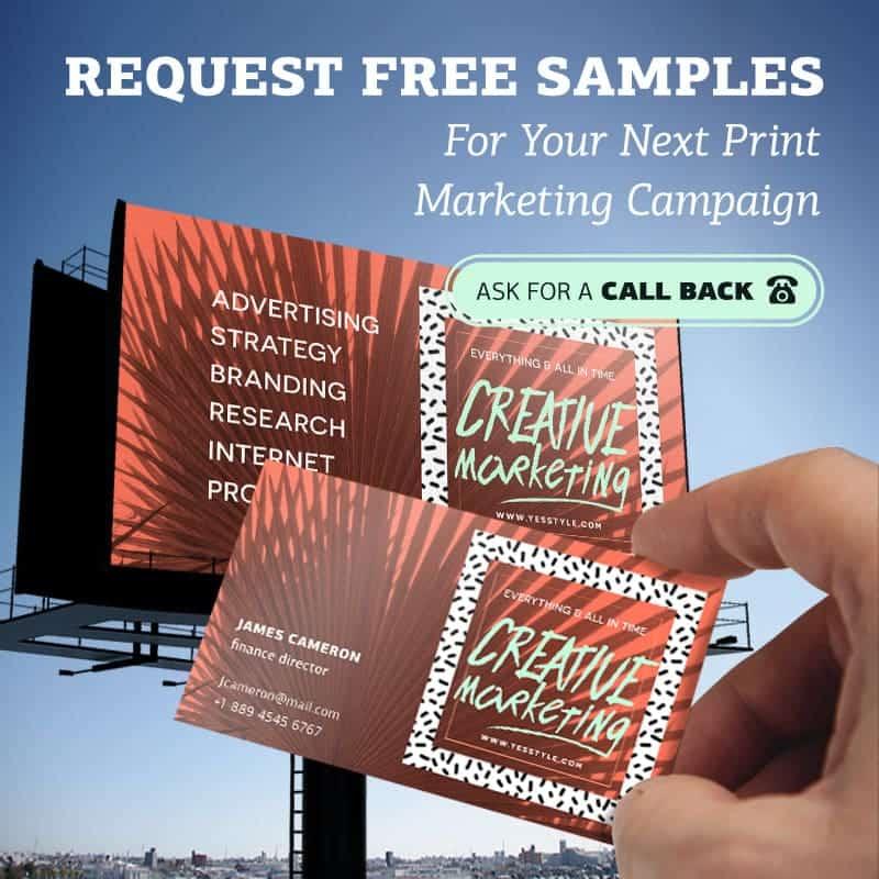 free printing samples