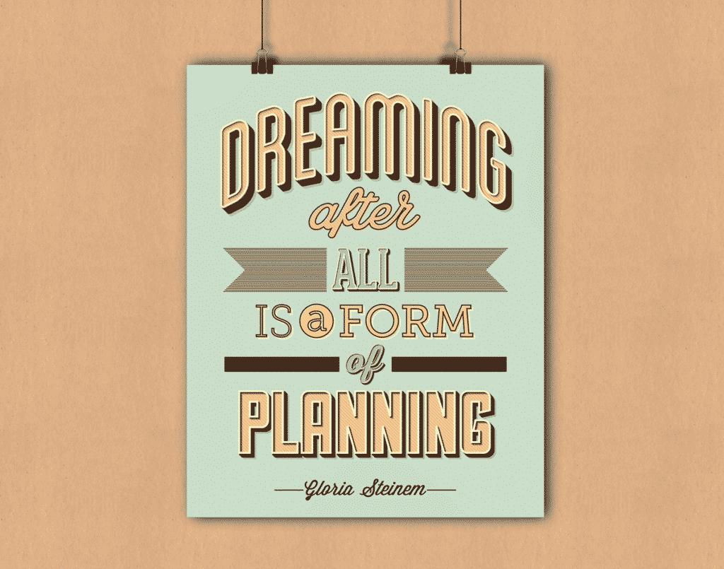 inspirational print designs