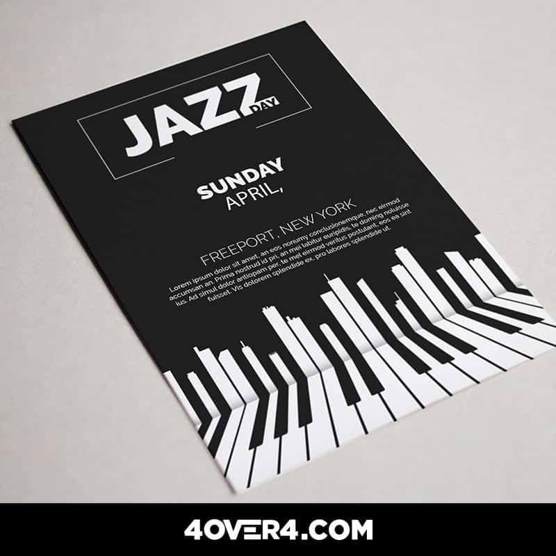 International Jazz Day flyers