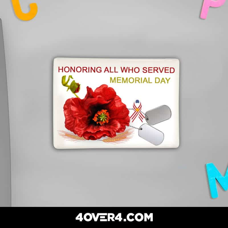 memorial day print products