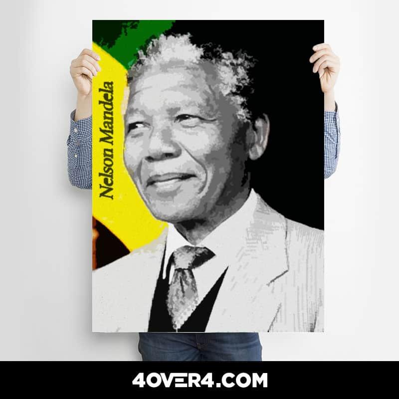 Nelson Mandela Posters