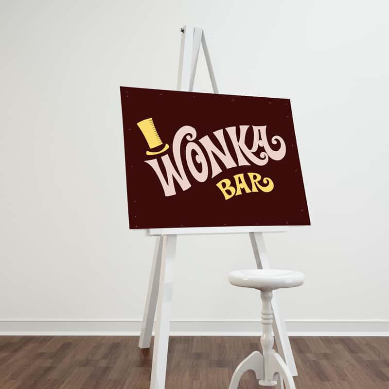 willy wonka prints