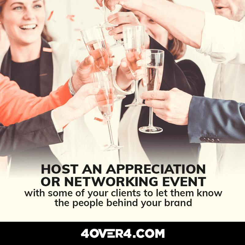 appreciation event