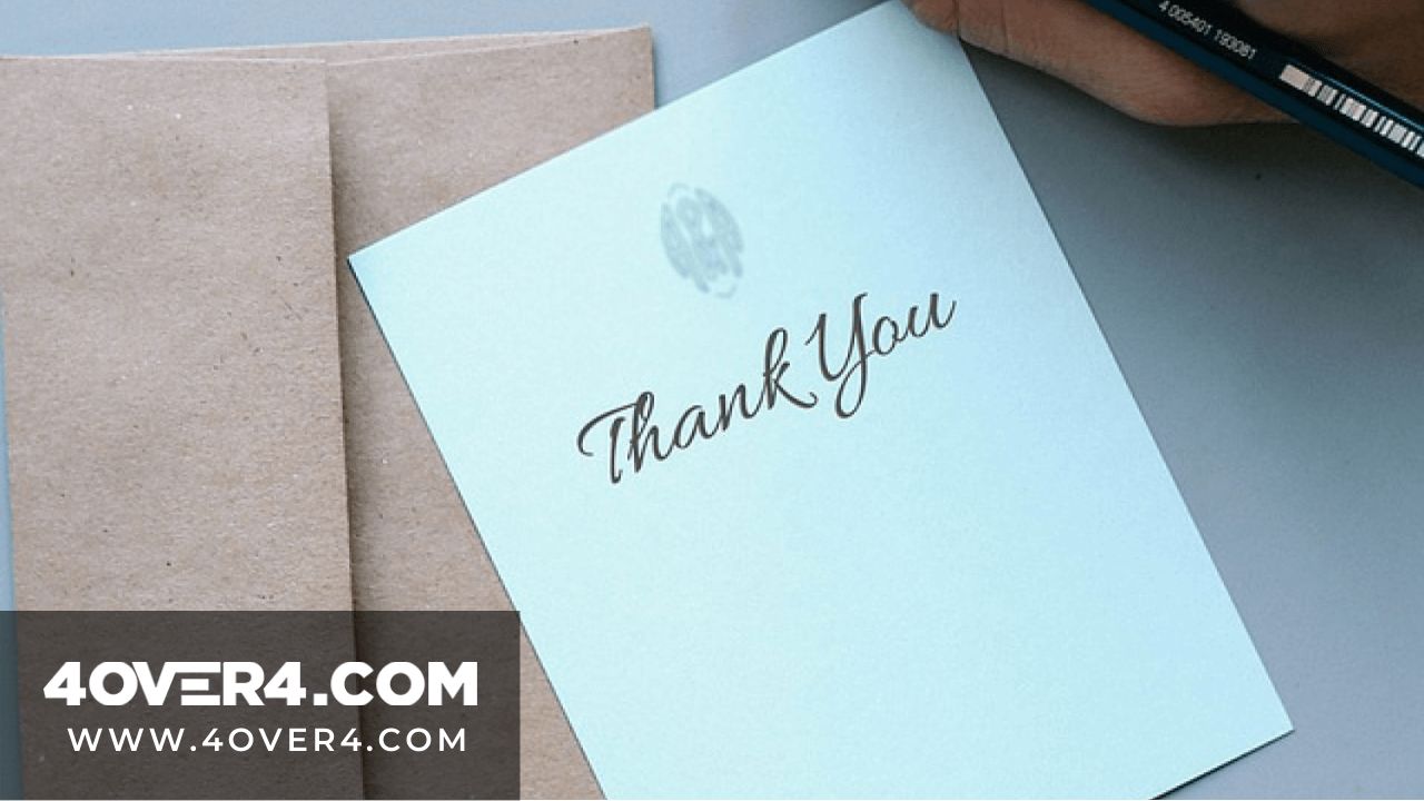 Writing Thank You Notes Ideas