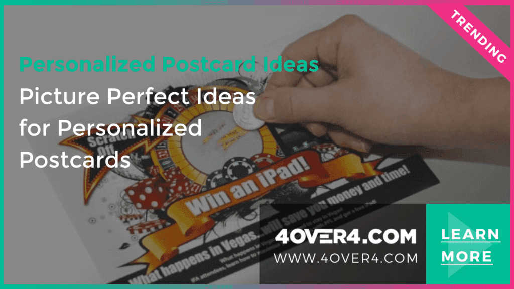 8 Personalized Postcard Ideas for Your Small Businesses - Custom Printing