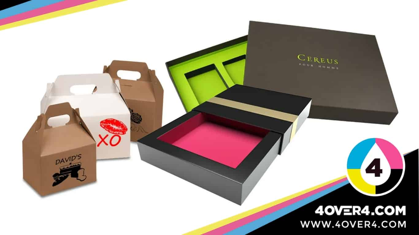 Different shapes and sizes customized boxes
