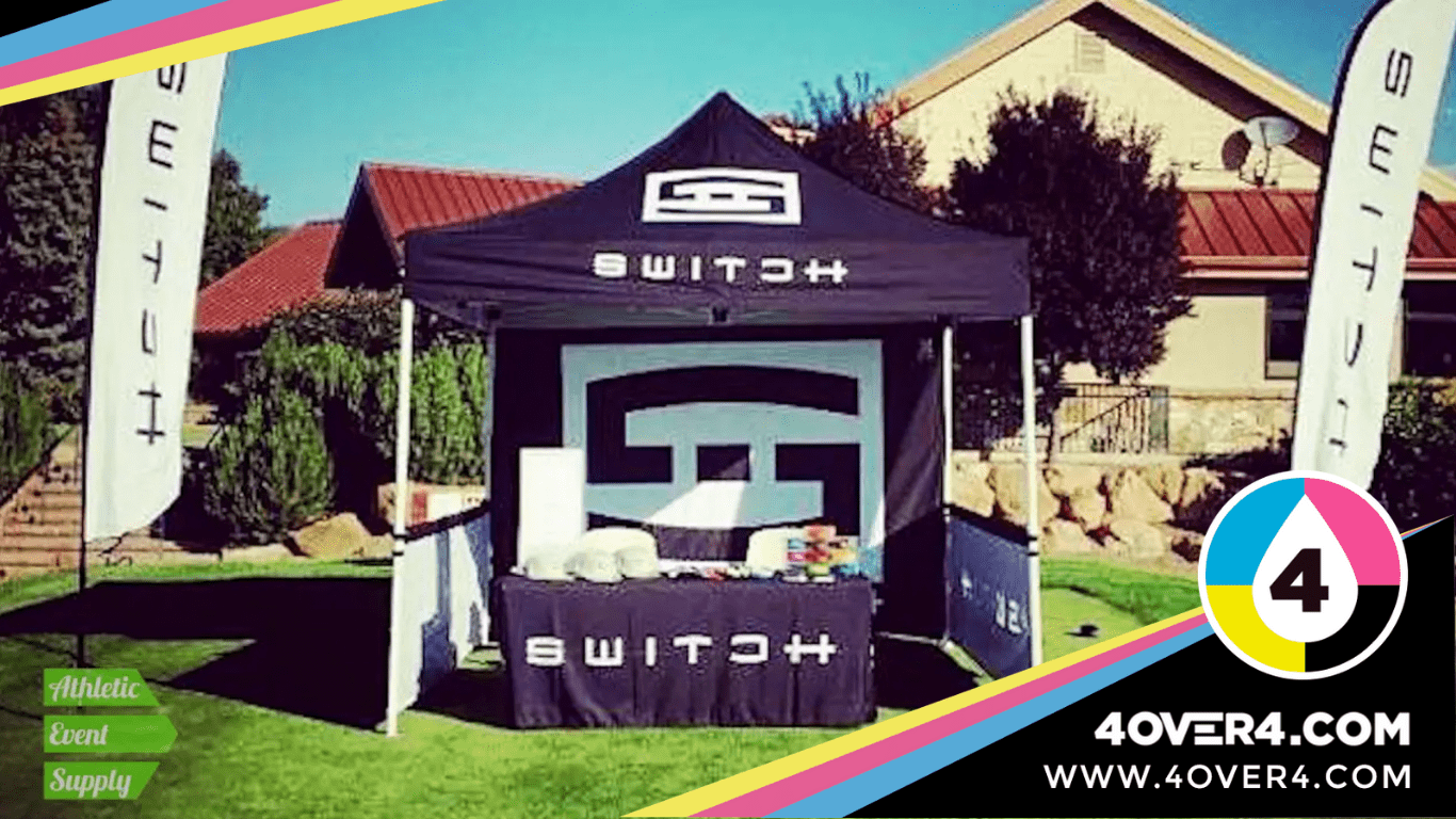 Custom canopy for fairs and events