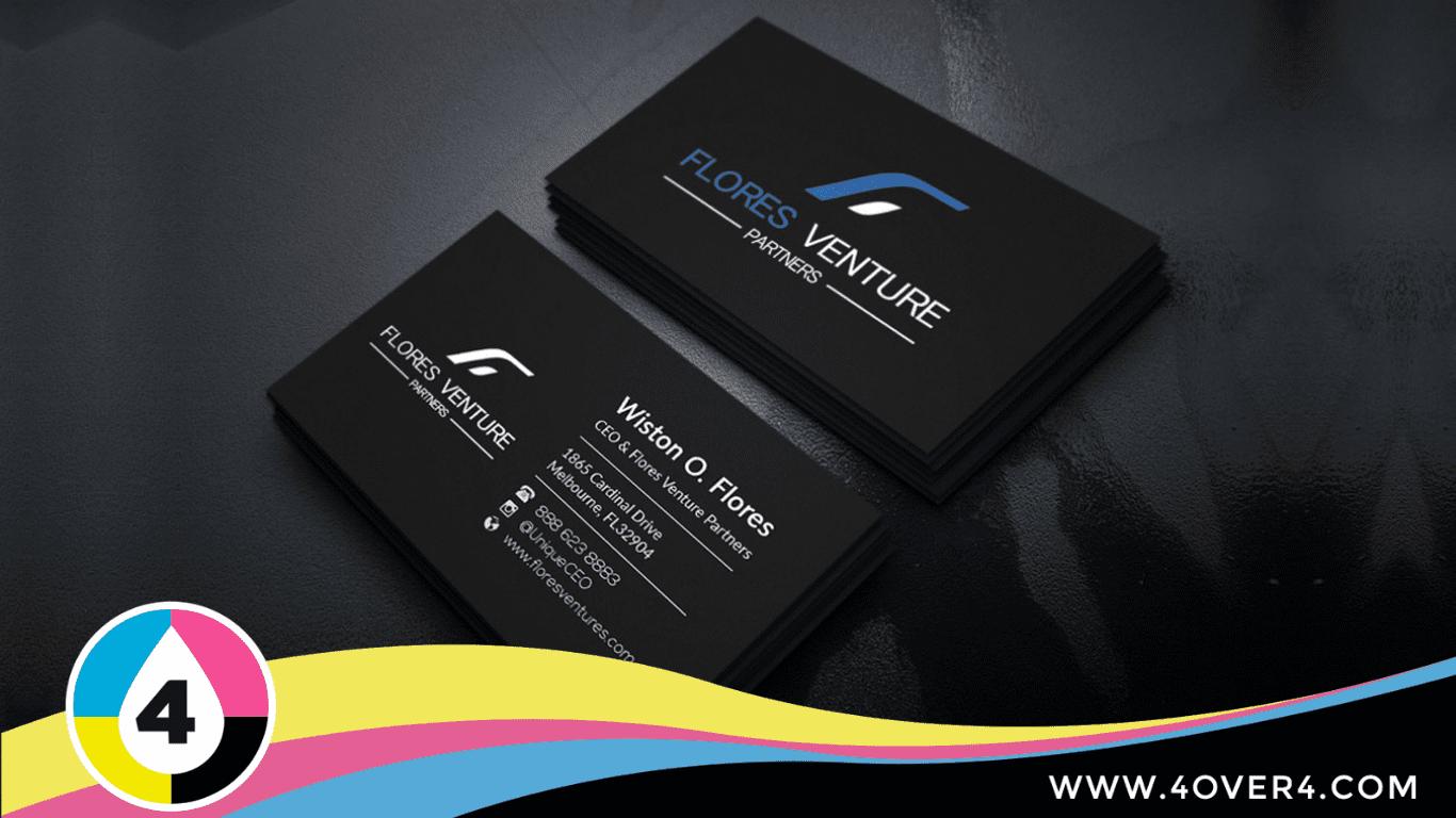 Black color clean logo premium quality card