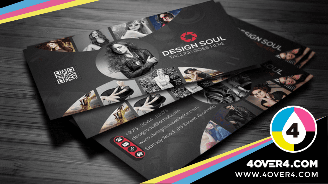 Photographer's-business-cards-with-best-work-printed-on-it