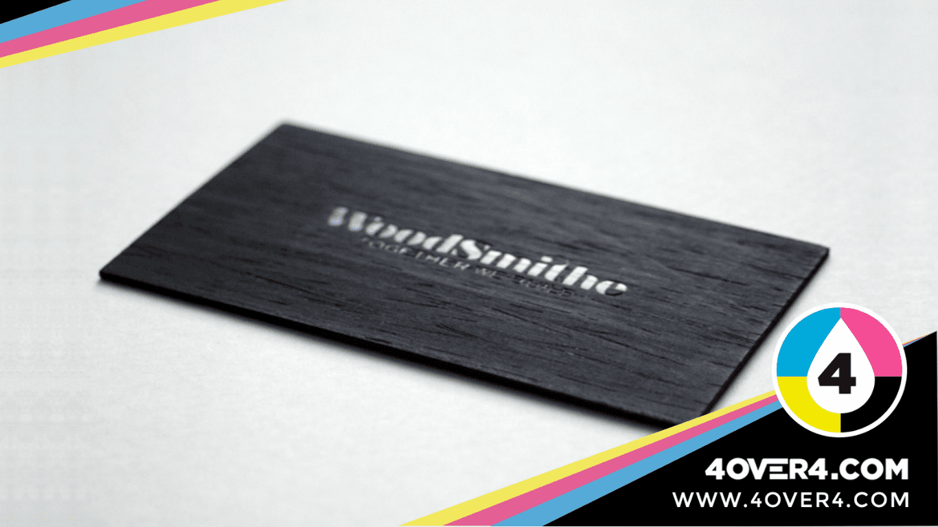 Wooden-texture-black-color-visiting-card