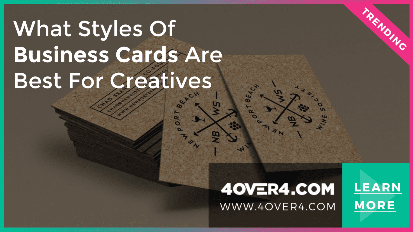 What Styles of Business Cards are Best for Creatives - Custom Printing