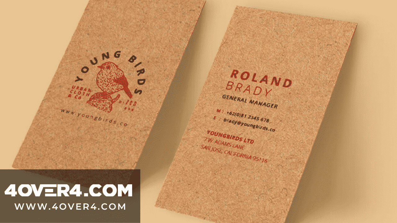 How to Save The Planet and Print Business Cards? - Custom Printing