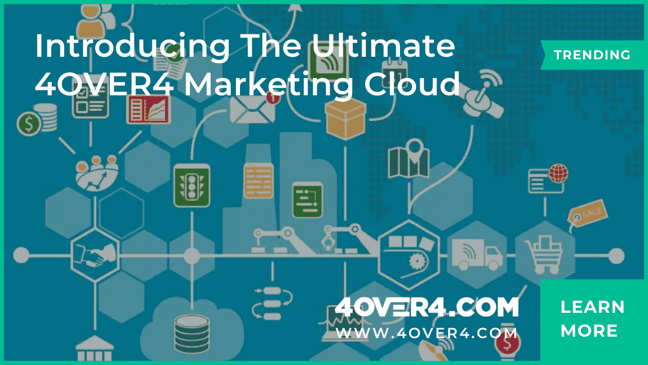 Introducing the Ultimate 4OVER4 Marketing Cloud - Marketing
