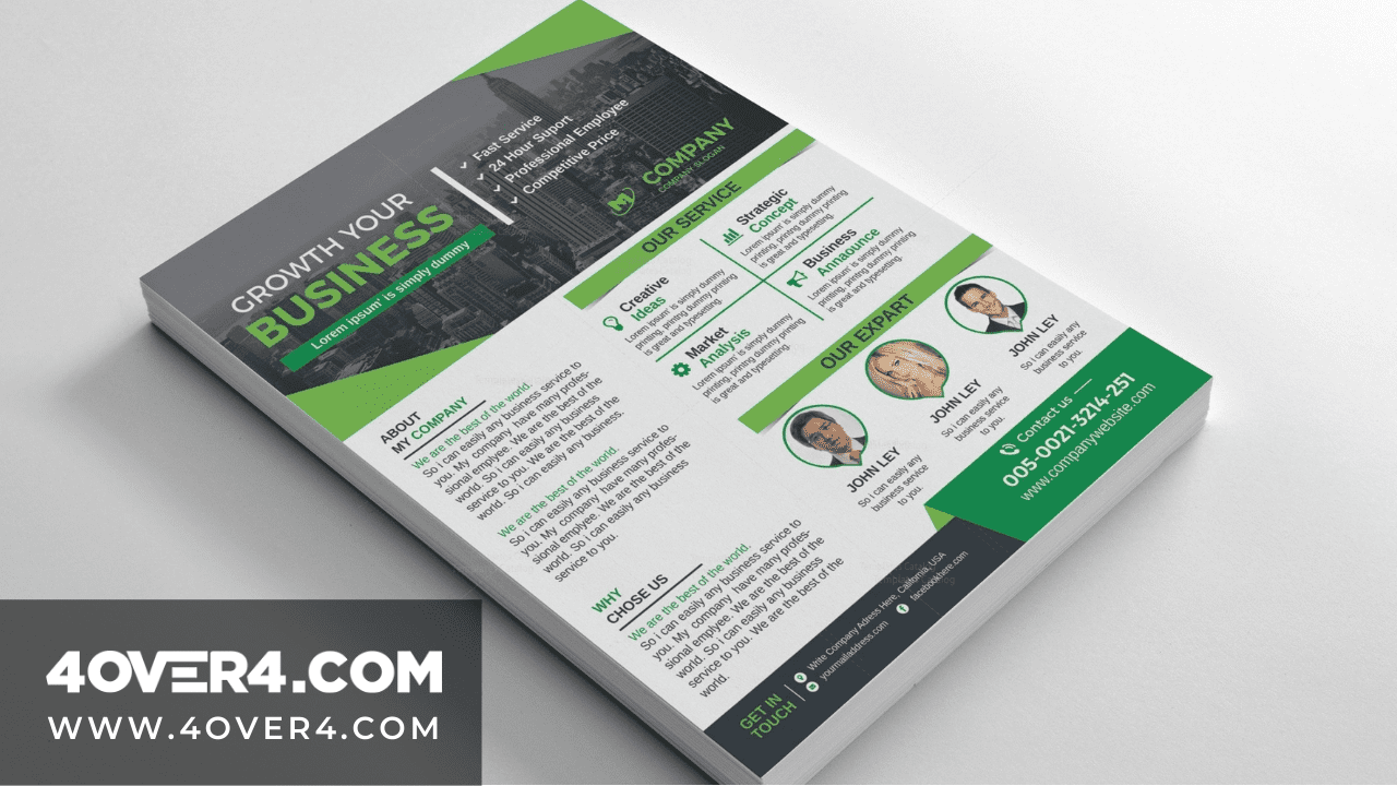 Unique Business Flyers - Unfold The Importance of Design - Custom Printing