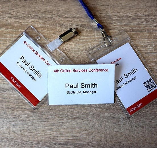 How To Design Unique Conference Badges That Stand Out - Entrepreneurs