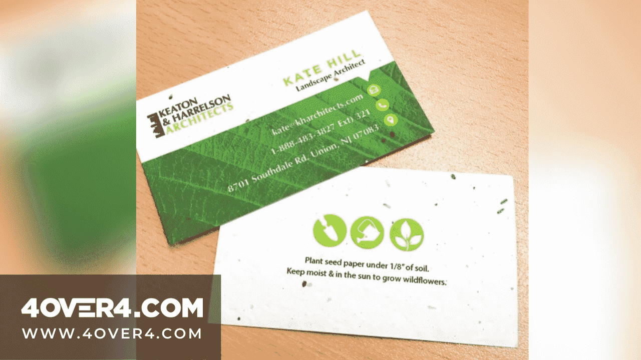 Best Seed Paper Business Cards - Business Cards