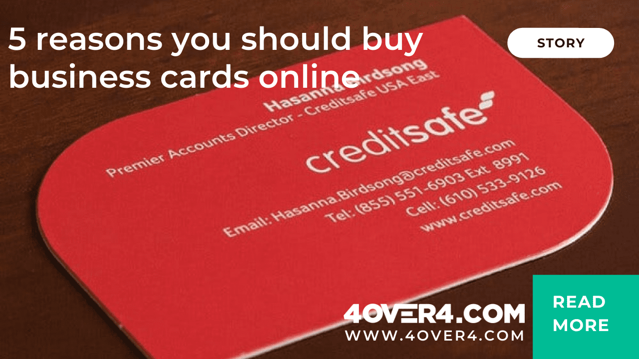 5 Reasons You Should Buy Business Cards Online - Business Cards