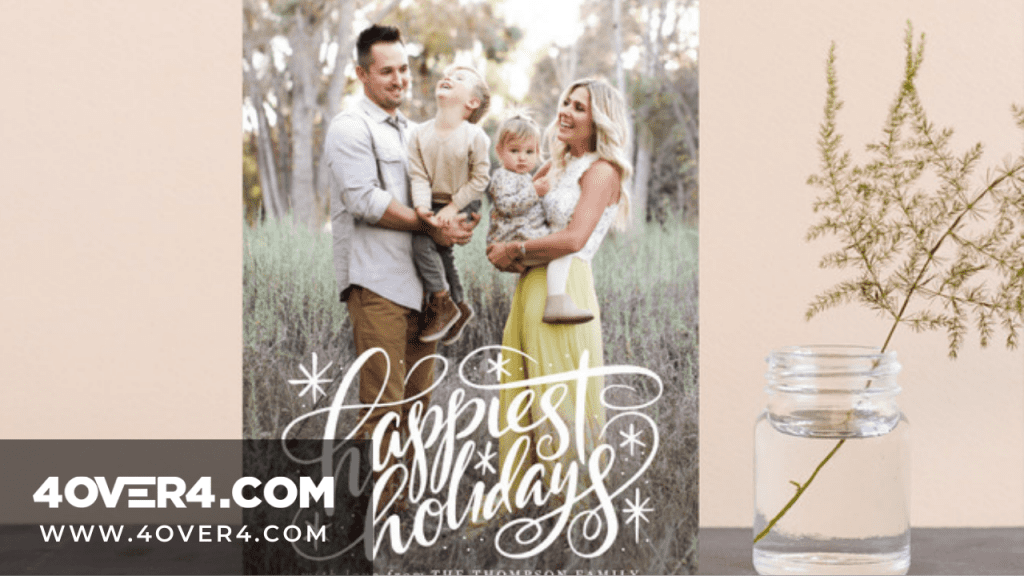 Custom Holiday Cards Ideas and Inspirations for Business - Arts & Crafts