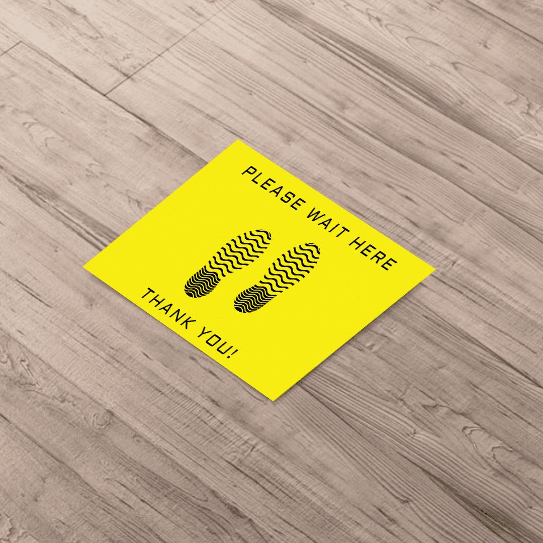 "Business & Finance 18"" x 24"" Aluminum Floor Graphics Templates -"