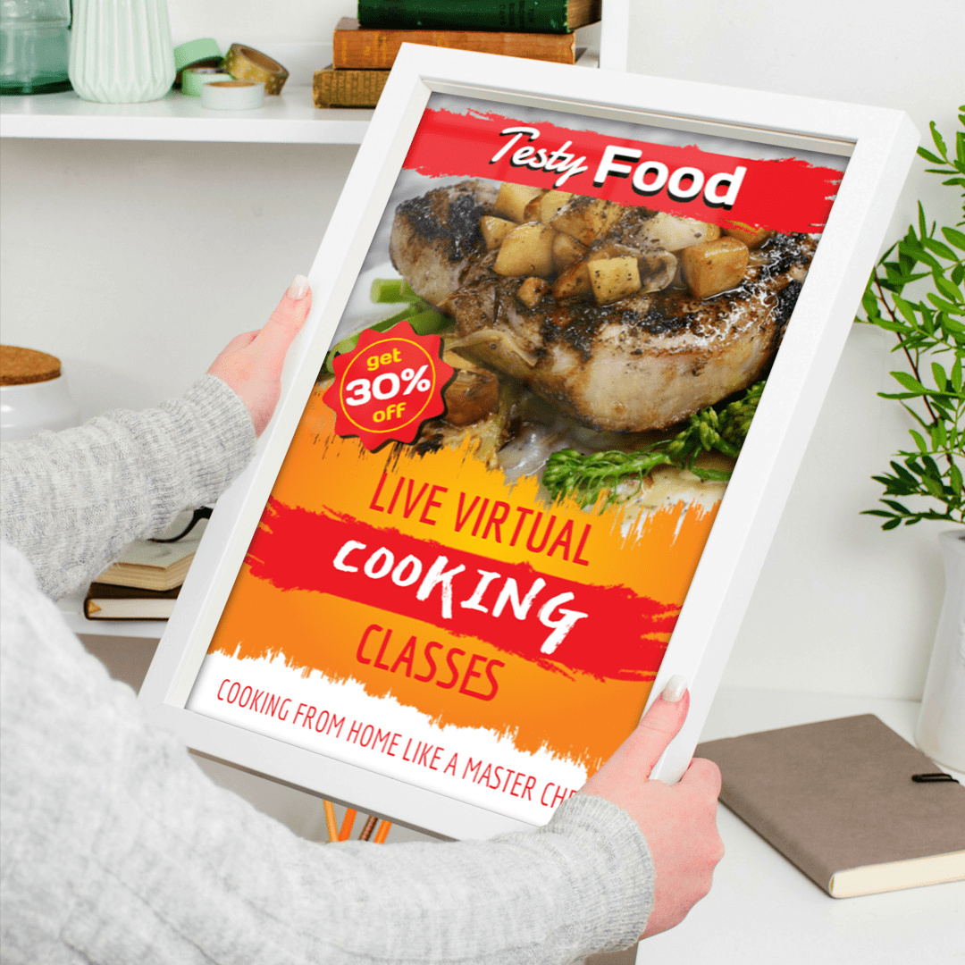 Cooking School 11 x 17 Posters Templates -