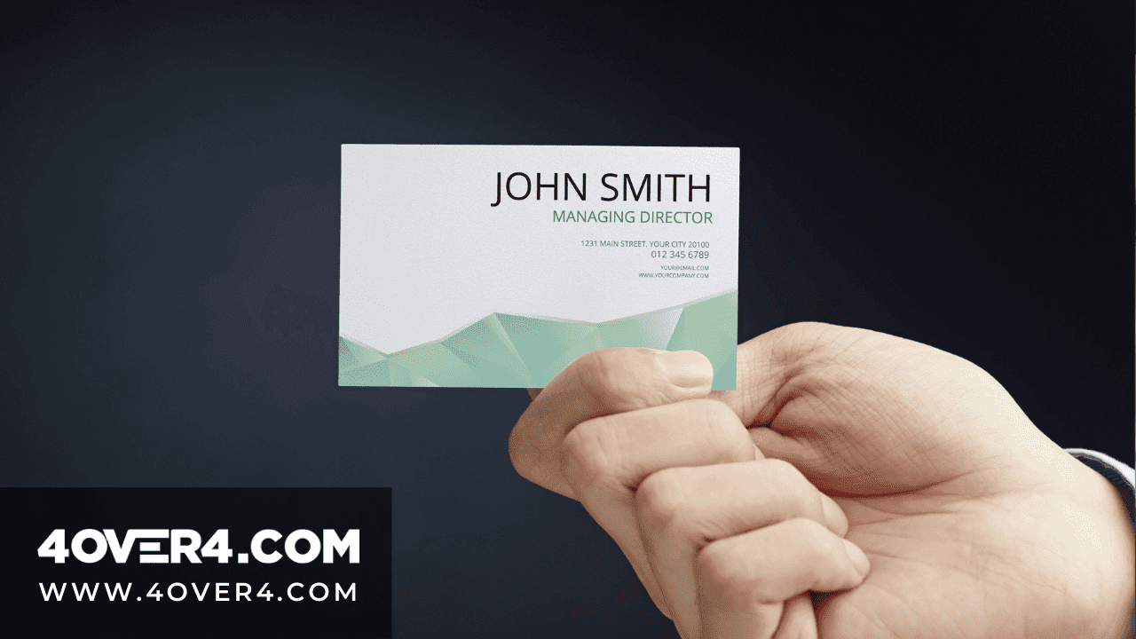 How Many Business Cards Does an Entrepreneur Need - Business Cards