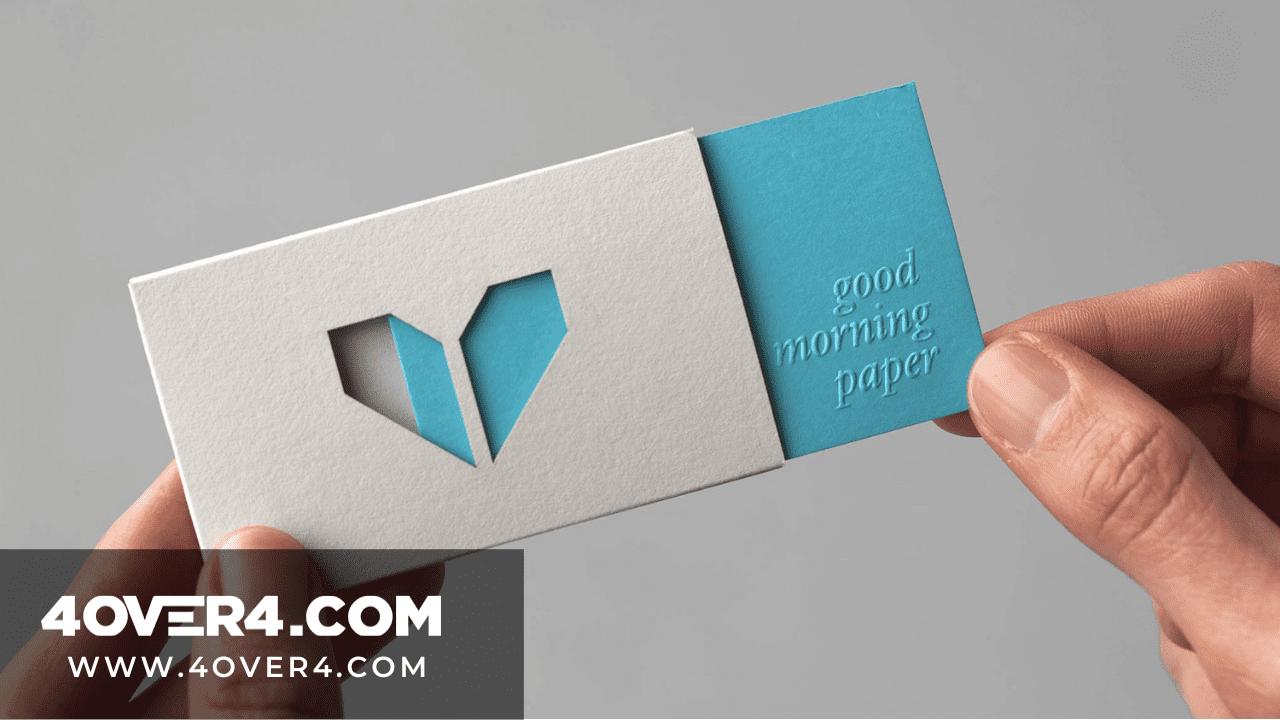 die-cutting-business-card
