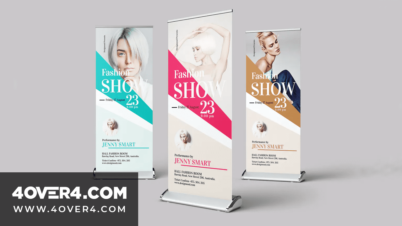 6 Amazing Fashion Trade Show Banners - Vinyl Banners