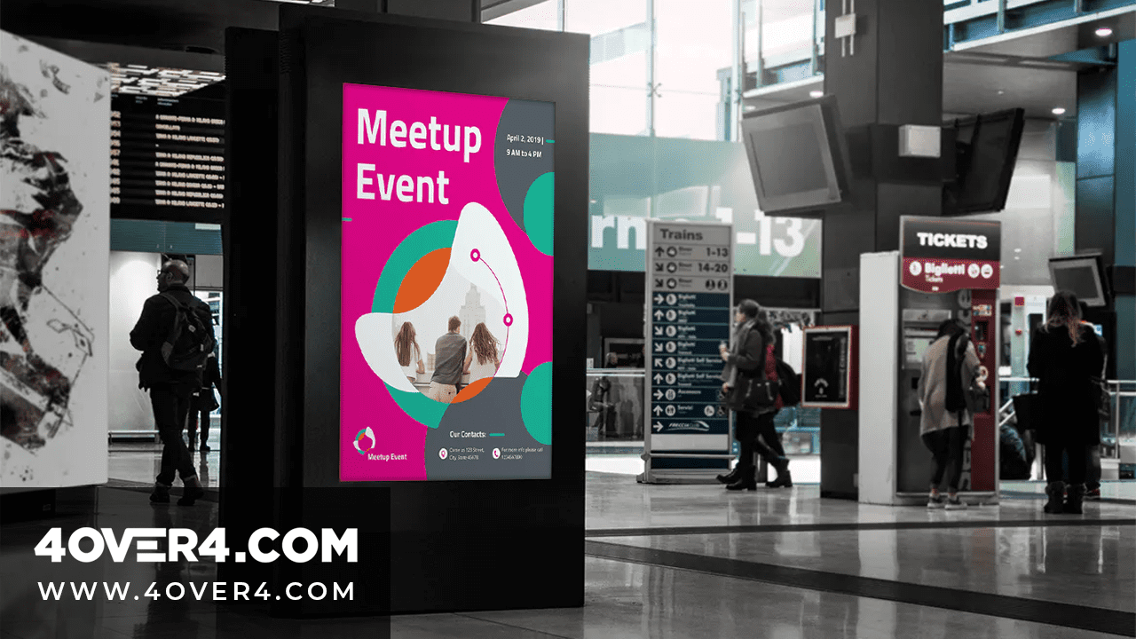 Outstanding Fixed or Scrolling Custom Outdoor Banners for your Event - Hi Gloss Posters