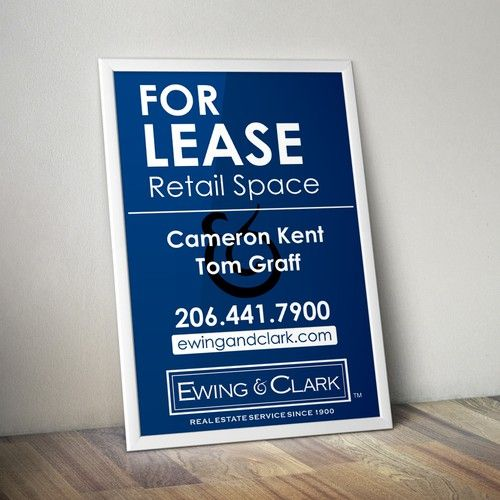 real-estate-banner-stand
