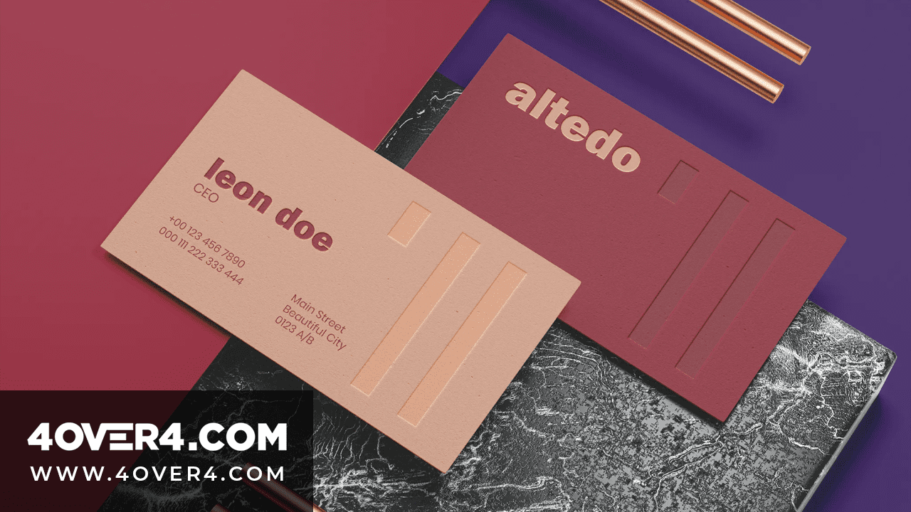 Online Printing: Stunning Business Card Printing Designs - Business Cards