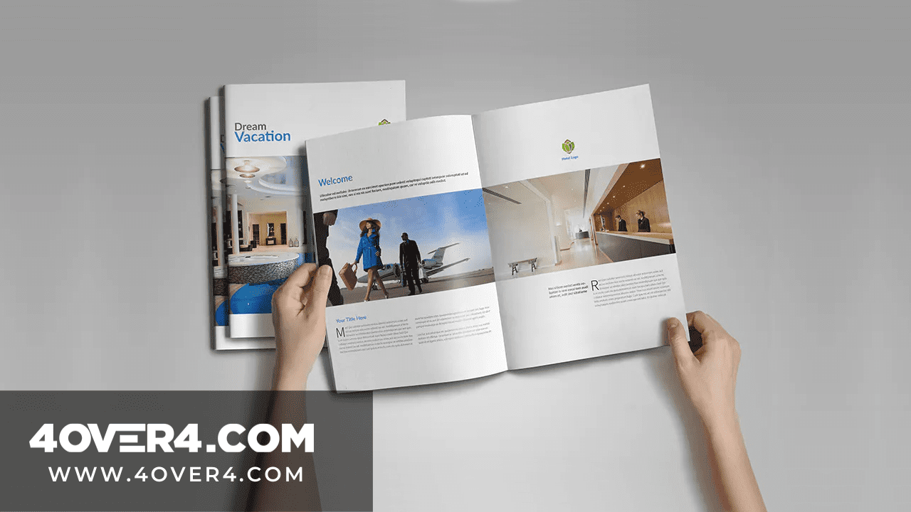 Brochure Printing: Unique Flyers and Brochures for Hospitality Industry - Brochures and Catalogs