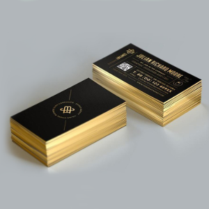 Edge Gilded Business Cards